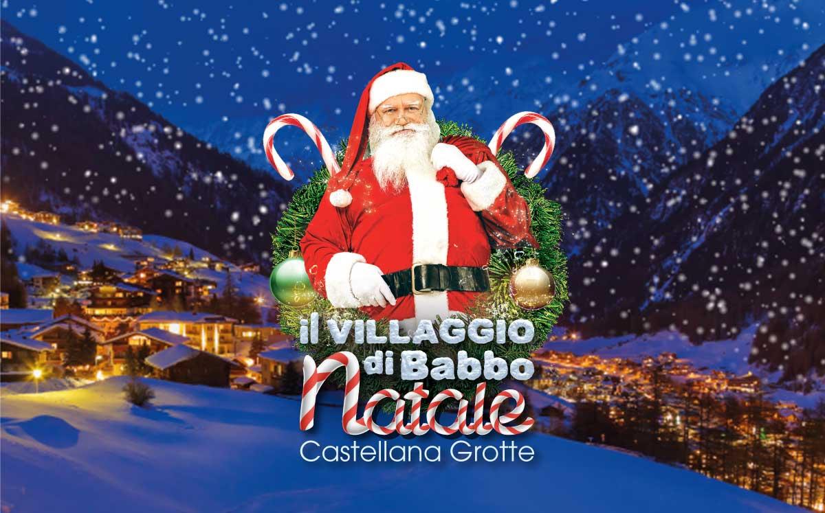 Parco Di Babbo Natale.Il Villaggio Di Babbo Natale Piegiato