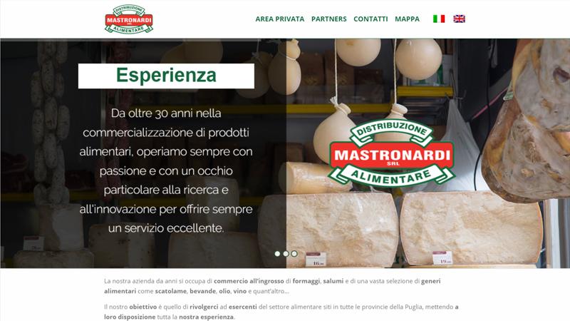 Mastronardi Srl website