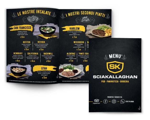 menu Sciakallaghan